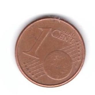 2001 Нидерланды 1 евроцент