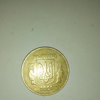 Монета номиналом 50 коп. 2006г.