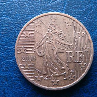 Франция 10 центов 2006