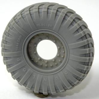 1:35 Колёса /PanzerArt#35-305/ British Road Wheels(Dunlop)