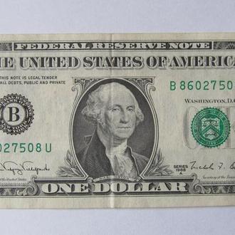 США 1 доллар 1988 г.