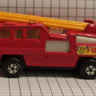 Matchbox модель пожарной лестницы superfast #22 blaze buster 1975 1983 1:64 lesney productsnd
