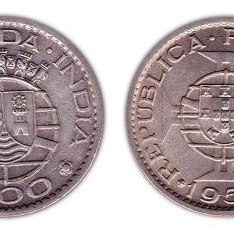 Португальская Индия 1 эскудо 1959
