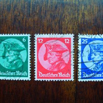 3-ий Рейх.1933г. Король Пруссии. Полная серия. КЦ 30.00 евро!