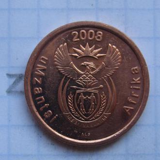 ЮАР, 5 центов 2008 г.