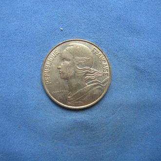 Франция 10 сантимов 1994 год