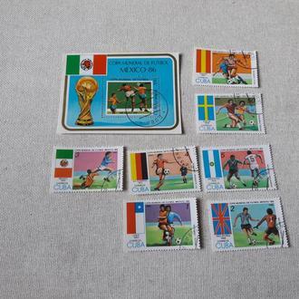 Марки Куба футбол спорт