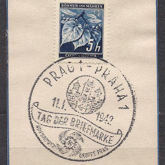 Рейх, 1942 г., спец гашение
