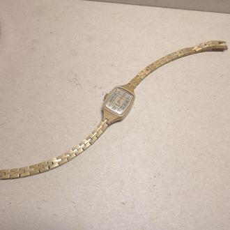 Часы Чайка, позолота Au, СССР