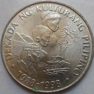Филиппины 1 писо 1989 юб. состояние