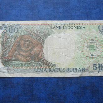 банкнота 500 рупий Индонезия 1994 №1