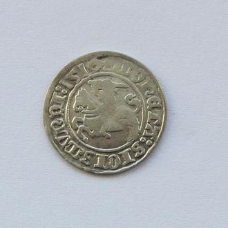 полугрош 1510 г Сигизмунд I Старый,  Литва, Вильно (C3)