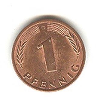 1 пфенниг 1978 Д