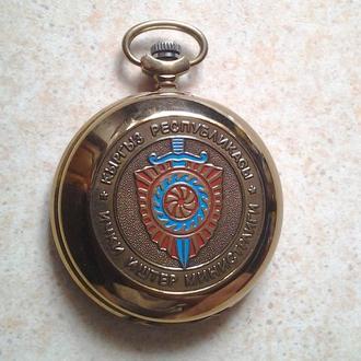Часы карманные Молния Киргизское КГБ