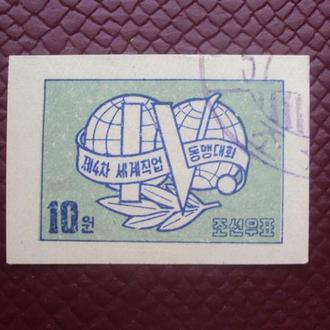 Корея 1957г. гаш.