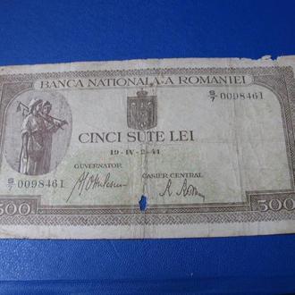 500 Лей Румунія Румыния 1940
