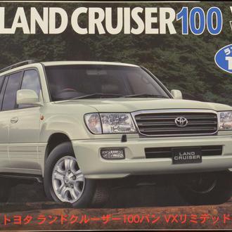 Сборная модель автомобиля Toyota Land Cruiser 100 VAN VX Limited  1:24 Fujimi