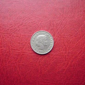 Швейцария 10 раппен 1924