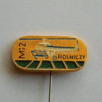 Знак авиации МИ-2