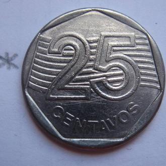 БРАЗИЛИЯ, 25 сентаво 1994 года.
