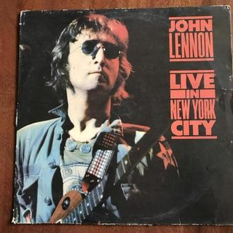 LP John Lennon Live in NYC Индия
