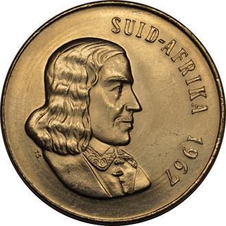 Південна Африка 50 центів 1967  AU-UNC   A229