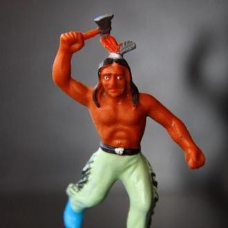 индейцы ковбои ГДР( № 047) незаводская покраска