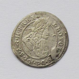 1 крейцер 1699г. Леопольд I Габсбург, Силезия