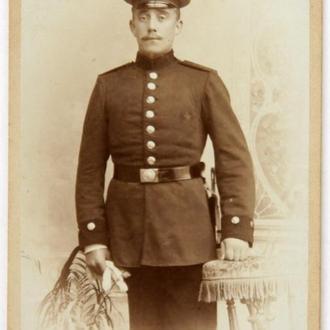 Кабинетка Портрет военного 1910-е гг., Harburg, Germany, fB06