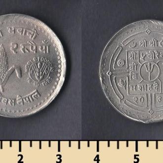Непал 2 рупии 1981