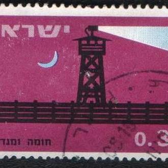 Израиль (1963) Укреплённые поселения
