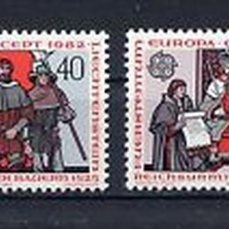 Лихтенштейн 1982 EUROPA CEPT
