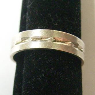 Серебряное кольцо (Обручалка)