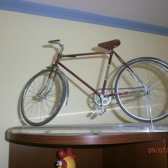 Масштабная модель велосипеда Украина