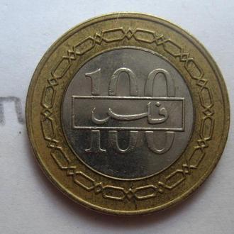 БАХРЕЙН 100 филсов 2005 г. (БИМЕТАЛЛ).