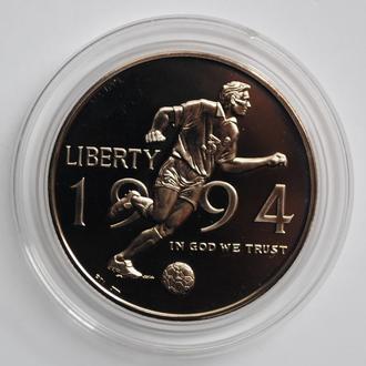 США 50 центов 1994 г. P, BU, 'Чемпионат мира по футболу 1994'