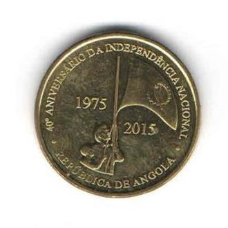 Ангола 100 кванза 2015 Юбилейная UNC!