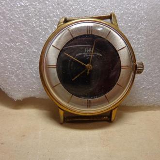 Часы Луч, позолота Au10=, СССР