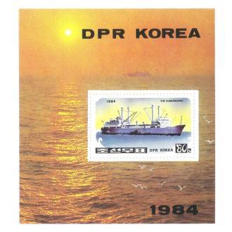 Корея КНДР корабли1984