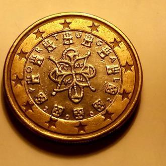 1 евро 2002 года, Португалия - а