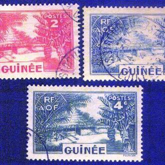 Гвинея (1938) Французская колония. Деревня