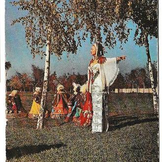 Календарик 1981 Цирк, Молдова, Энгелина Рогальская