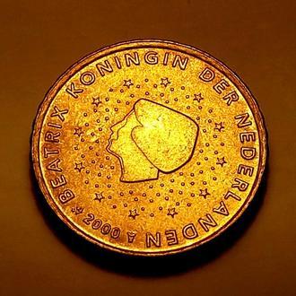 10 евро центов 2000 года, Нидерланды - а