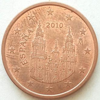 (А) Испания 5 евроцентов евро центов 2010