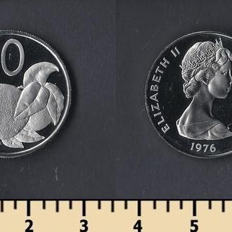 КУКА ОСТРОВА 10 ЦЕНТОВ 1976