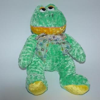 новая мягкая игрушка с наполнителем лягушка wal-mart stories оригинал на подарок