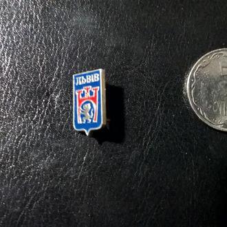 Значок СССР Львів герб