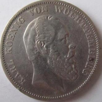 5 марок 1874г