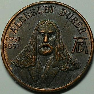 Нюрнберг жетон 1971 год РЕДКИЙ!