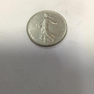 ФРАНЦИЯ, 1 франк 1961